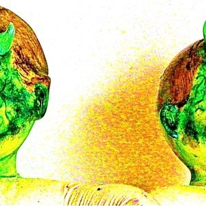 Other - Siamese Twin Newborn Demon Zombie w Fangs Doll